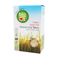 Big Oz Organic Brown Rice Flakes 500g